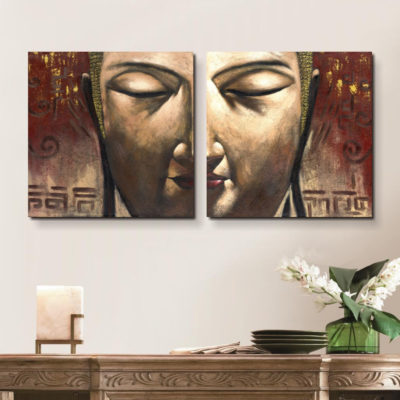 100% Hand Painted Oil Painting Canvas buddha Canvas Pictures Wall decor