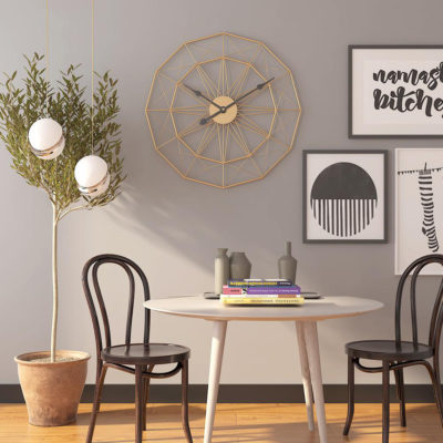 Nordic Metal Iron Wall Clock Wall Clock Wall decor